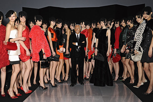Giorgio Armani Women's Autumn and Winter 2010/2011 Collection